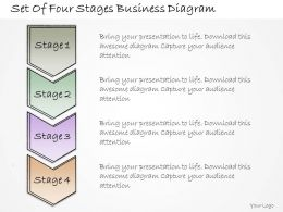 1113 Business Ppt Diagram Set Of Four Stages Business Diagram Powerpoint Template