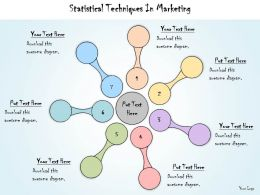 1113 Business Ppt Diagram Statistical Techniques In Marketing 7 Stages Powerpoint Template