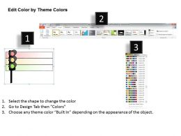 1113 Business Ppt Diagram Traffic Signals PPT Chart Powerpoint Template