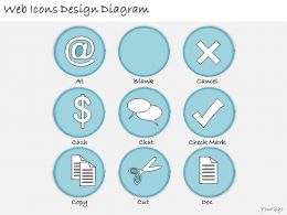 1113 Business Ppt Diagram Web Icons Design Diagram Powerpoint Template