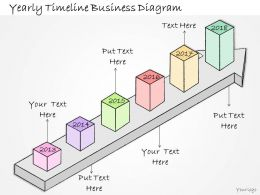 1113 Business Ppt Diagram Yearly Timeline Business Diagram Powerpoint Template