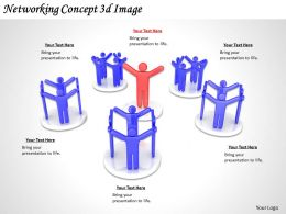 1113 Networking Concept 3d Image Ppt Graphics Icons Powerpoint