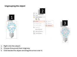 37809087 Style Essentials 1 Our Vision 5 Piece Powerpoint Presentation Diagram Template Slide