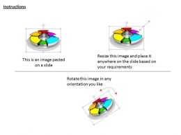 1114 3d Colorful Pie Chart For Business Image Graphics For Powerpoint