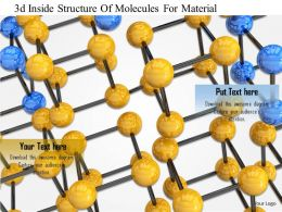 1114 3d Inside Structureof Molecules For Material Image Graphic For Powerpoint