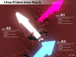 1114 A Group Of Colored Arrows Rising Up Image Graphics For Powerpoint