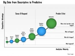 1114 Big Data From Descriptive To Predictive Powerpoint Presentation