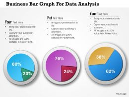 1114 Business Bar Graph For Data Analysis Powerpoint Template