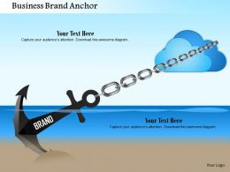 1114 Business Brand Anchor Powerpoint Presentation