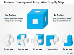 1114 Business Development Integration Step By Step Powerpoint Presentation