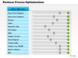 1114 Business Process Optimizations Powerpoint Presentation