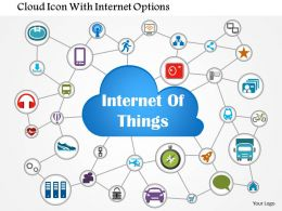 1114_cloud_icon_with_internet_options_powerpoint_template_Slide01 internet of things fully connected networked devices all over the internet of things diagram at mifinder.co