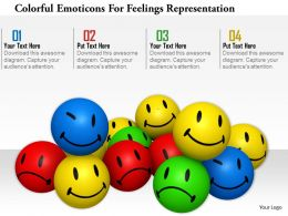1114 Colorful Emotions For Feelings Representation Image Graphics For Powerpoint