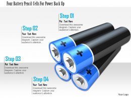 1114_four_battery_pencil_cells_for_power_back_up_image_graphic_for_powerpoint_Slide01