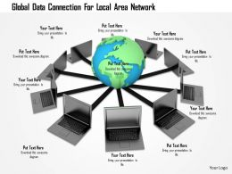 1114 Global Data Connection For Local Area Network Image Graphics For Powerpoint