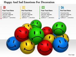 1114 Happy And Sad Emotions For Decoration Image Graphics For Powerpoint