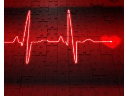 1114_heart_and_heartbeat_symbol_on_puzzle_background_stock_photo_Slide01