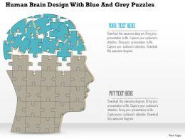 59700915 Style Puzzles Matrix 2 Piece Powerpoint Presentation Diagram Infographic Slide