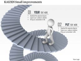 1114 Kaizen Small Improvements Powerpoint Presentation