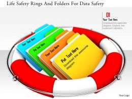 1114 Life Safety Rings And Folders For Data Safety Image Graphics For Powerpoint
