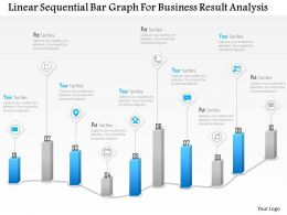 1114_linear_sequential_bar_graph_for_business_result_analysis_powerpoint_template_Slide01