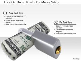 1114_lock_on_dollar_bundle_for_money_safety_image_graphics_for_powerpoint_Slide01