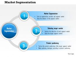 1114 Market Segmentation Powerpoint Presentation