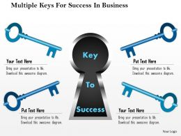 1114_multiple_keys_for_success_in_business_powerpoint_template_Slide01