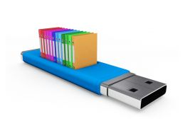 1114 Pen Drive With Books For Data Storage