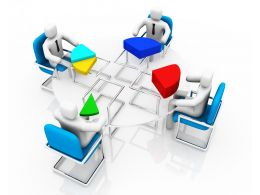 1114_pie_chart_in_parts_with_team_for_business_result_analysis_stock_photo_Slide01