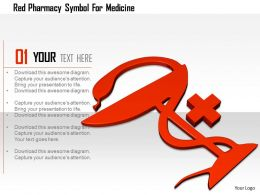 1114 Red Pharmacy Symbol For Medicine Image Graphics For Powerpoint