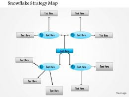 1114 Snowflake Strategy Map Powerpoint Presentation