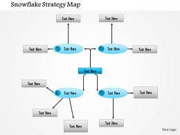 1114 Snowflake Strategy Map Powerpoint Presentation
