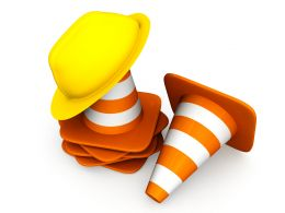 1114_traffic_cones_with_helmet_for_road_safety_stock_photo_Slide01