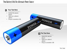 1114 Two Battery Cells For Alternate Power Source Image Graphic For Powerpoint