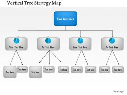1114 Vertical Tree Strategy Map Powerpoint Presentation