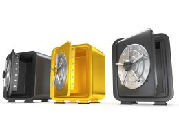 1114_yellow_unique_safe_in_black_safes_stock_photo_Slide01