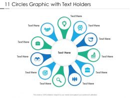 11 Circles Graphic With Text Holders