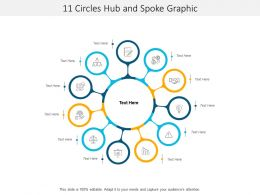 11 Circles Hub And Spoke Graphic