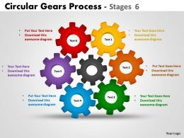 11 Circular Gears Process Stages 6