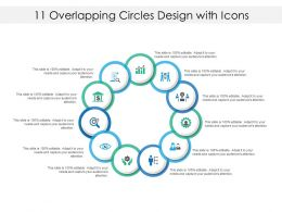 11 Overlapping Circles Design With Icons