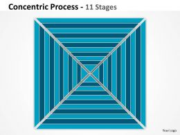 11 Staged Square Concentric Diagram For Business