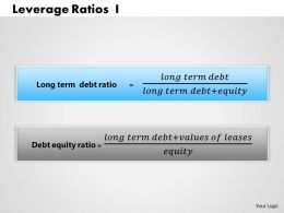1203 Leverage Ratios 1 Powerpoint Presentation