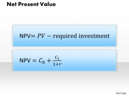 1203 Net Present Value Powerpoint Presentation
