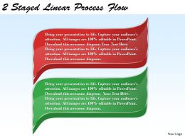 1213 Business Ppt diagram 2 Staged Linear Process Flow Powerpoint Template