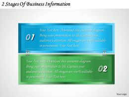 1213 Business Ppt diagram 2 Stages Of Business Information Powerpoint Template