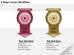 1213_business_ppt_diagram_2_steps_linear_workflow_powerpoint_template_Slide01