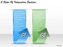 1213_business_ppt_diagram_2_steps_of_integration_systems_powerpoint_template_Slide01