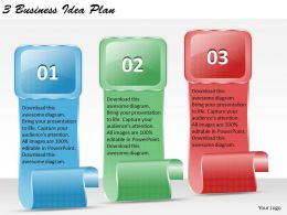 1213 Business Ppt diagram 3 Business Idea Plan Powerpoint Template