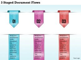 1213 Business Ppt diagram 3 Staged Document Flows Powerpoint Template